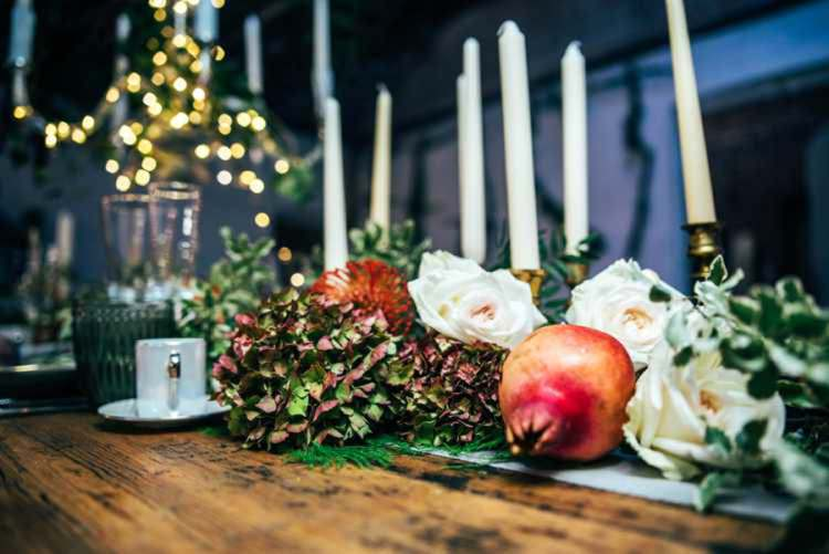 Candles Flowers Fruit Celestial Feast Party Wedding Ideas http://www.threeflowersphotography.co.uk/
