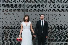 Modern Artistic Colour Pop City Wedding http://missgen.com/