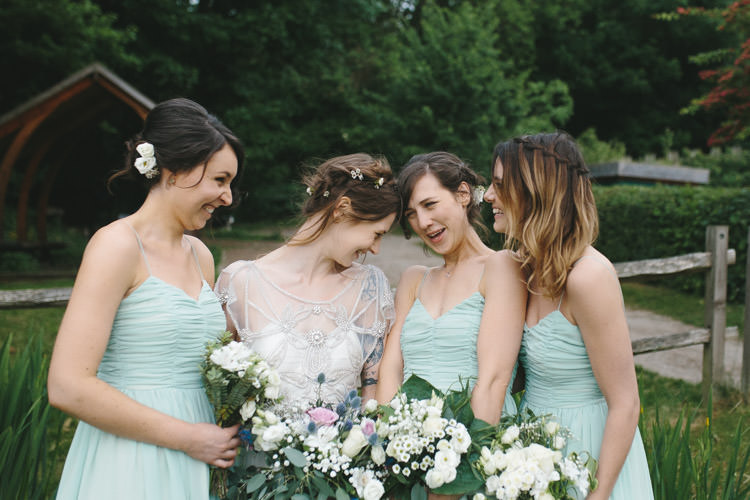 Mint Green ASOS Bridesmaid Dresses Happy DIY Woodland Wedding http://www.elliegracephotography.co.uk/