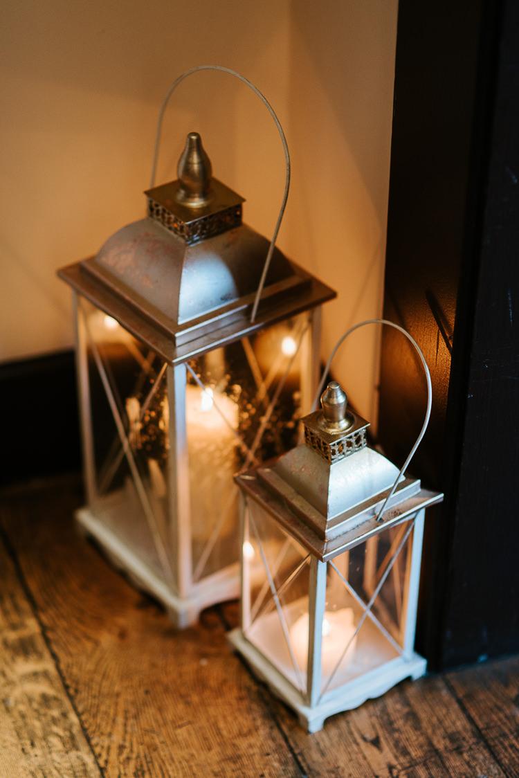 Decor Lanterns Light Romantic Candles Silver | Glitter Dinosaurs City Wedding https://struvephotography.co.uk/