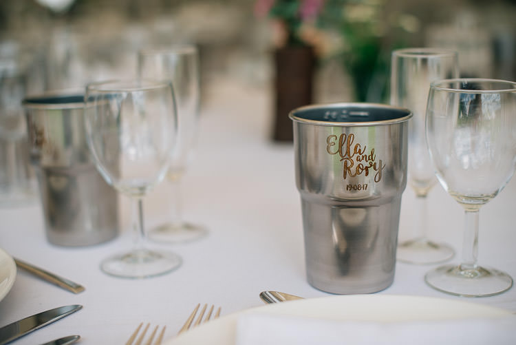 Steel Mug Cup Favours Festival Bohemian Glamping Wedding https://theshannons.photography/
