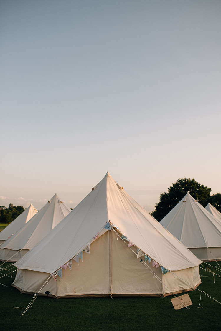 Bell Tent Camping Festival Bohemian Glamping Wedding https://theshannons.photography/