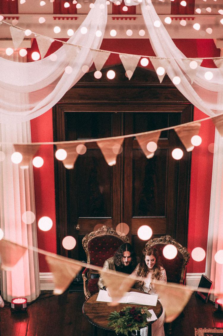 Opulent Eccentric Berry Gold Wedding https://mattaustinimages.co.uk/