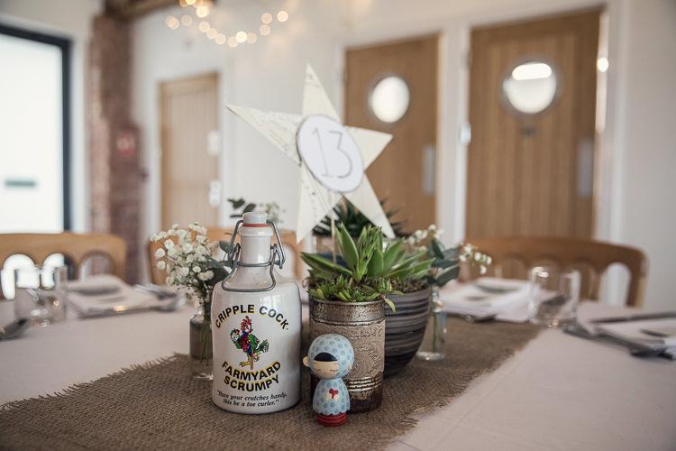 Tin Can Succulents Heartfelt Celestial Handmade Wedding http://assassynation.co.uk/
