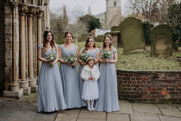 Long Grey Bridesmaid Dress Twinkly Rustic Winter Wonderland Wedding https://www.kazooieloki.co.uk/