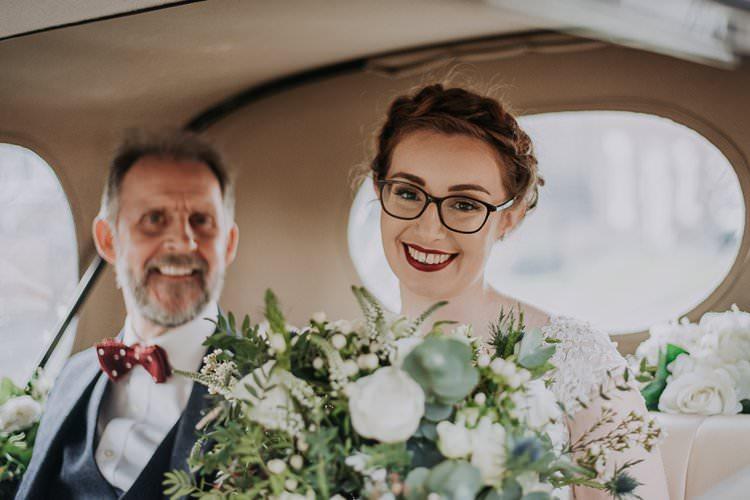 Bride Bridal Make Up Glasses Twinkly Rustic Winter Wonderland Wedding https://www.kazooieloki.co.uk/