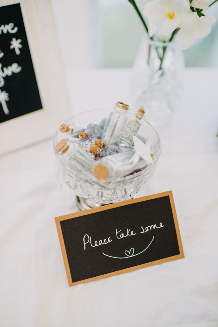 Fairy Dust Glitter Blackboard Magical Woodland Family Wedding http://photographybyclare.co.uk/