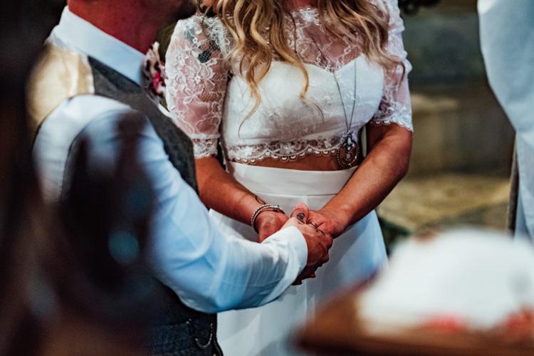 Bride Bridal Sweetheart Neckline Drop Shoulder Lace Bralette Topper Separates Boho DIY Secret Garden Wedding https://bibandtuckerphotography.co.uk/