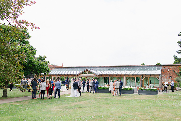 Understated Elegance Greenery Natural Wedding Gaynes Park Essex http://ilariapetrucci.co.uk/