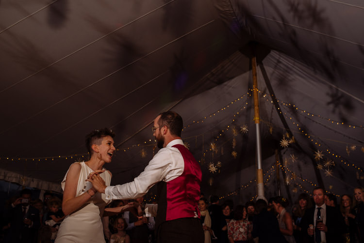 DIY Bride Groom Dance Marquee Tipi Alternative Hippy Forest Farm Field Garden Wedding | Homegrown Community Eclectic Rural Yorkshire Wedding https://toastofleeds.co.uk/