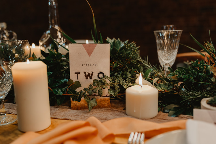 Table Name Number Industrial Violet Greenery Succulents Edison Lighting Wedding Ideas https://www.steviejayphotography.co.uk/