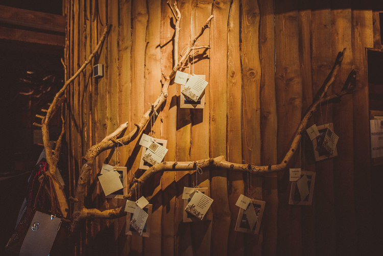Branch Tree Seating Plan Table Chart Rustic Relaxed Woodsy Alnwick Treehouse Northumberland Wedding http://www.mattpenberthy.com/