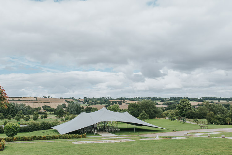 Stretch Tent Ceremony Non-Traditional Country Party Barn Wedding Yorkshire http://www.lauracalderwood.co.uk/