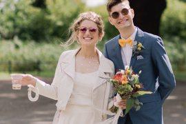 Colourful Indie London City Wedding Clissold House West Reservoir Centre https://www.murrayclarke.co.uk/
