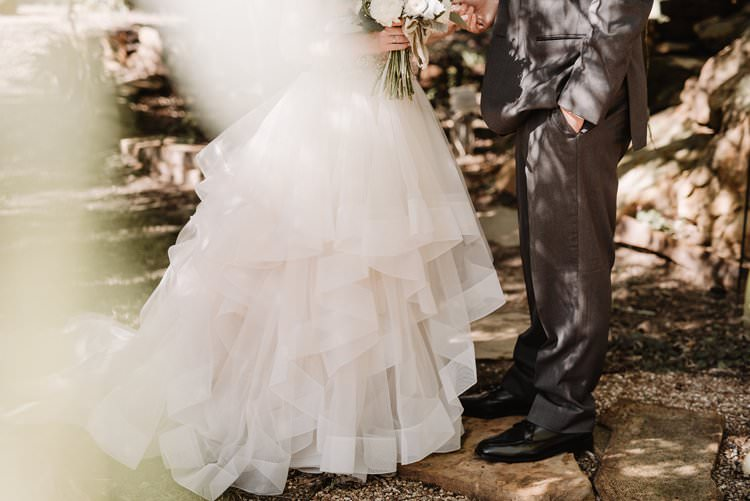 Outdoor Destination Classic Pink Bride Princess Gown Neutral Simple White Greenery Bouquet Romantic | Dreamy Blush Emerald Fairytale Wedding Oklahoma http://www.kelcyleighphotography.com/