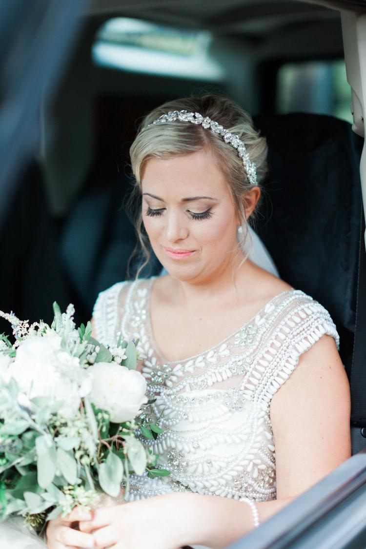 Bride Bridal Make Up Hair Hazy Summer Lavender Grey Wedding Cripps Barn Cotswolds http://jobradbury.co.uk/