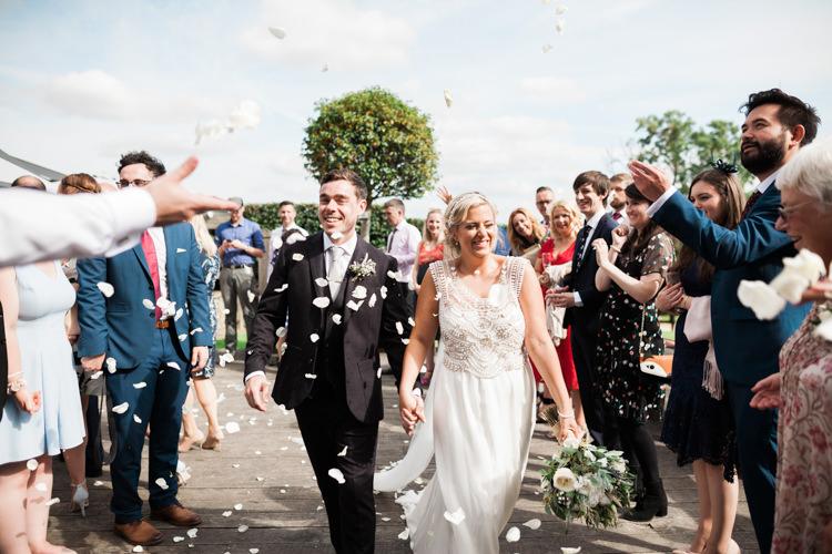 Confetti Hazy Summer Lavender Grey Wedding Cripps Barn Cotswolds http://jobradbury.co.uk/