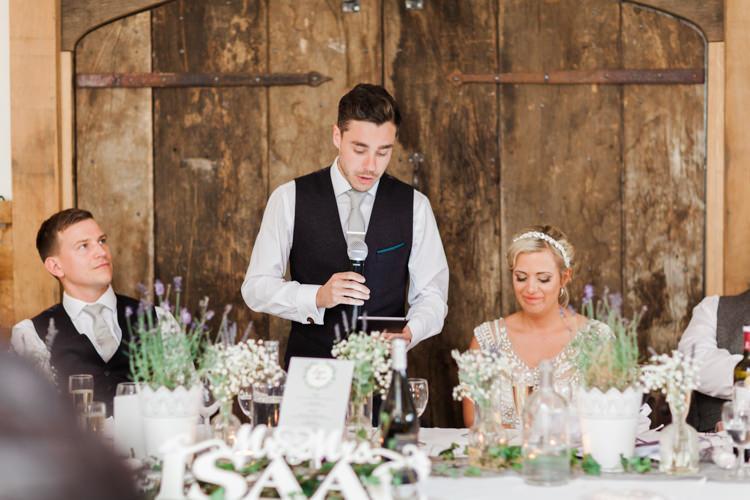 Hazy Summer Lavender Grey Wedding Cripps Barn Cotswolds http://jobradbury.co.uk/