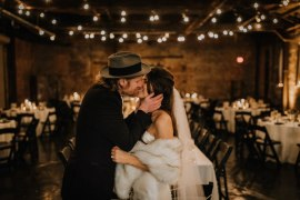 Boho Industrial Winter Wedding Lunalee Photography