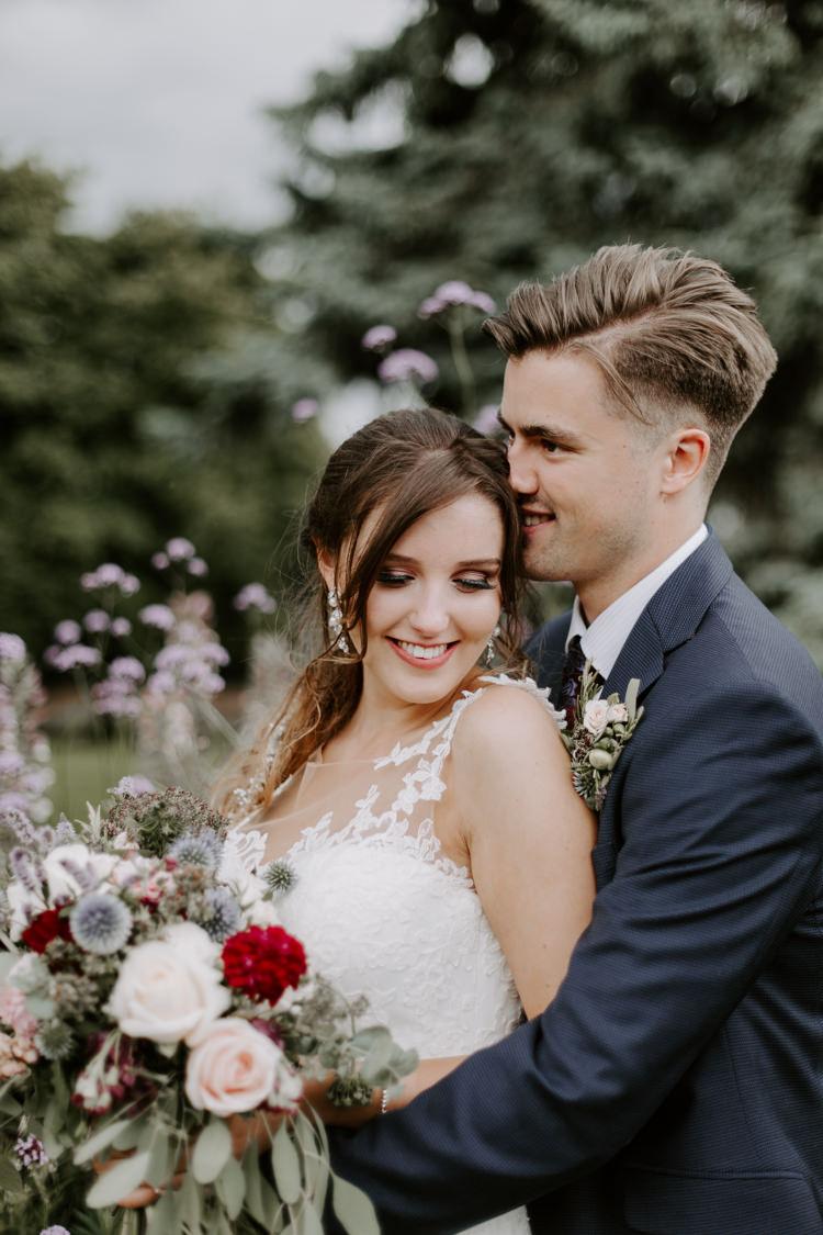 Make Up Bride Bridal Beauty Botanical Summer Garden Wedding Nottingham Grace Elizabeth Photo & Film