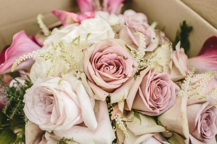 Pink Flowers Rose Astilbe Eclectic Asylum Wedding London Rusted Rose Photography