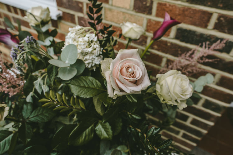 Flowers Rose Greenery Eclectic Asylum Wedding London Rusted Rose Photography
