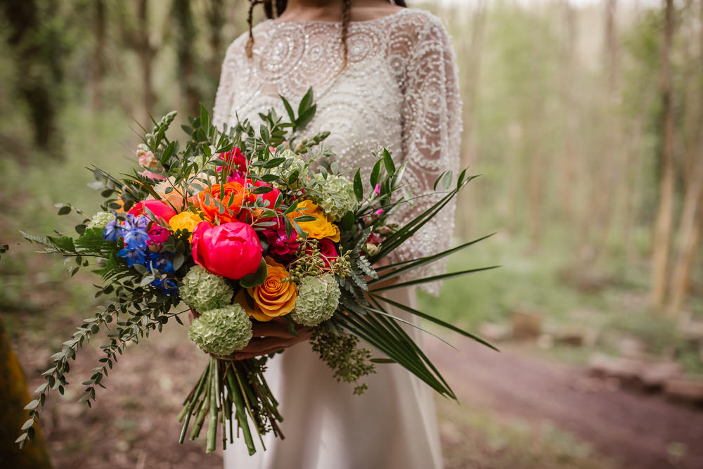 Bouquet Flowers Bride Bridal Colourful Peony Greenery Rose Arnos Vale Weddings Ideas When Charlie Met Hannah Photography