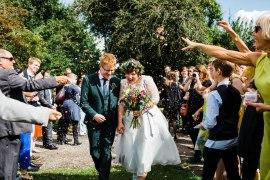Secret Barn Sussex Wedding Rainbow Colourful Yvonne Lishman Photography