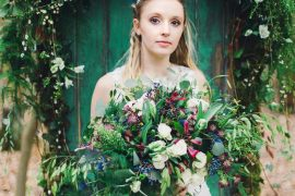 Nordic Woodland Elopement Wedding Ideas Nina Wernicke Photography