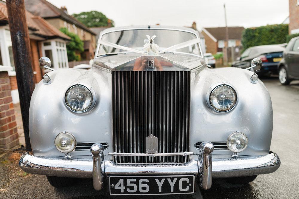 Vintage Car Transport Bridal Classic Stoke Place Wedding Hannah McClune Photography