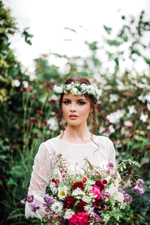 Colourful Bohemian Floral Wedding Ideas Anna Beth Photography