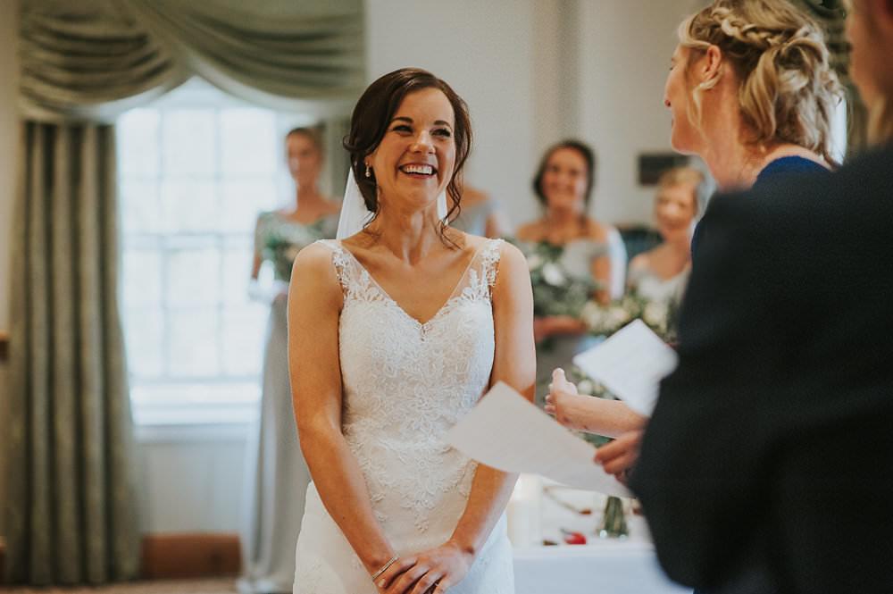 Bride Bridal Lace Sweetheart Neckline Straps Sleeveless Cathedral Veil Macdonald Houston Hotel Wedding Martin Venherm Photography