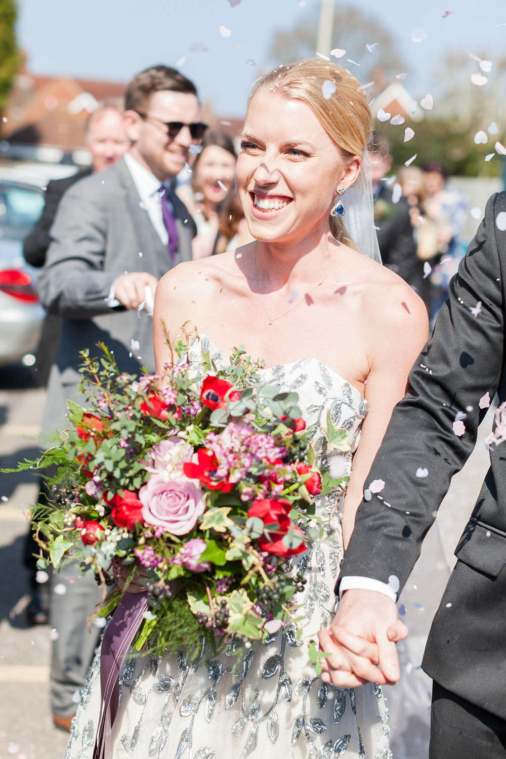 Confetti Throw Highcliffe Castle Wedding Bowtie and Belle Photography