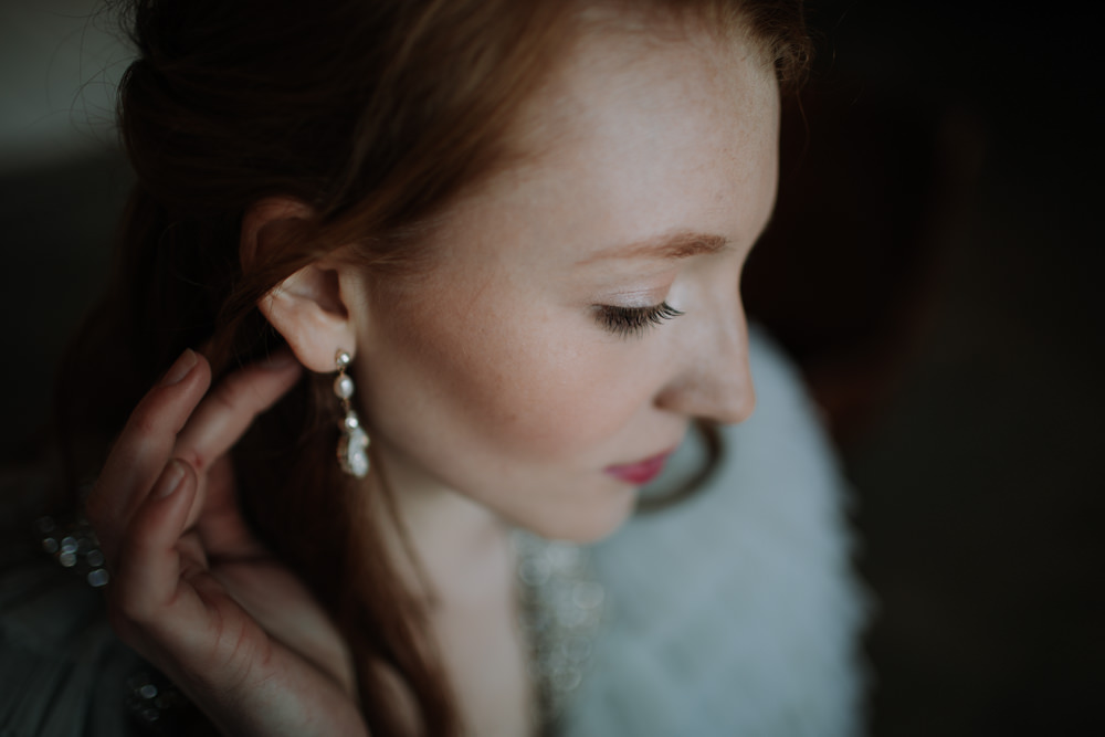 Make Up Beauty Bride Bridal Industrial Luxe Wedding Ideas Balloon Installation Ayelle Photography