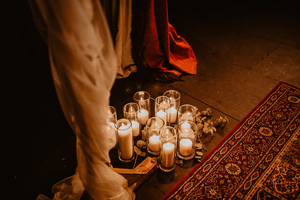 Ceremony Candles Rugs Aisle Norwich Cathedral Wedding Camilla Andrea Photography
