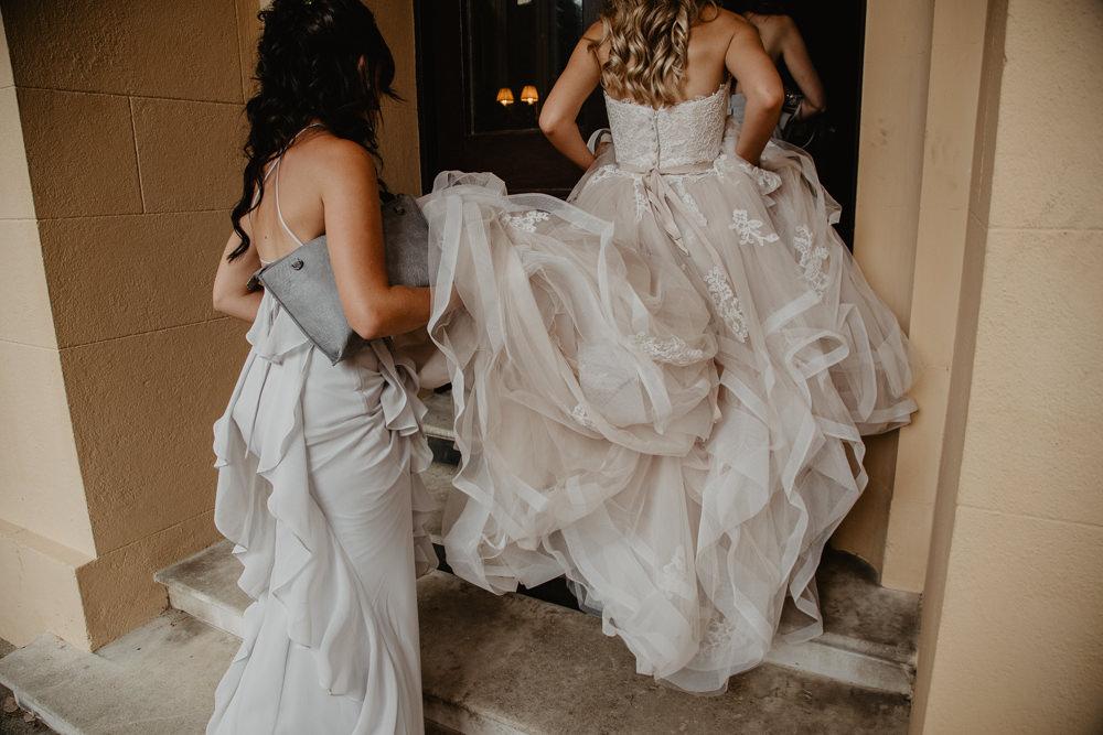Osborne House Isle of Wight Natural Classic Bride Bridesmaids Blush Vera Wang Dresses | Timeless Royal Inspired Seaside Wedding Holly Cade Photography
