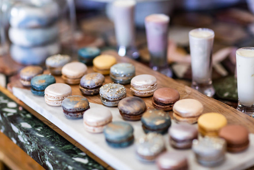 Modern Dance Ballet Inspired Fine Art Editorial Somerley House Cakes Dessert Table Kate Burt Macarons | Romantic Soft Wedding Ideas Siobhan H Photography