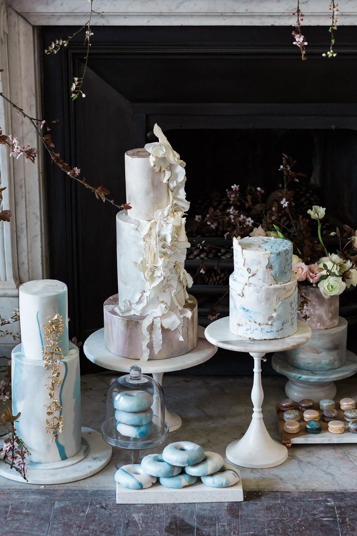 Modern Dance Ballet Inspired Editorial Fine Art Somerley House Kate Burt Cakes | Romantic Soft Wedding Ideas Siobhan H Photography