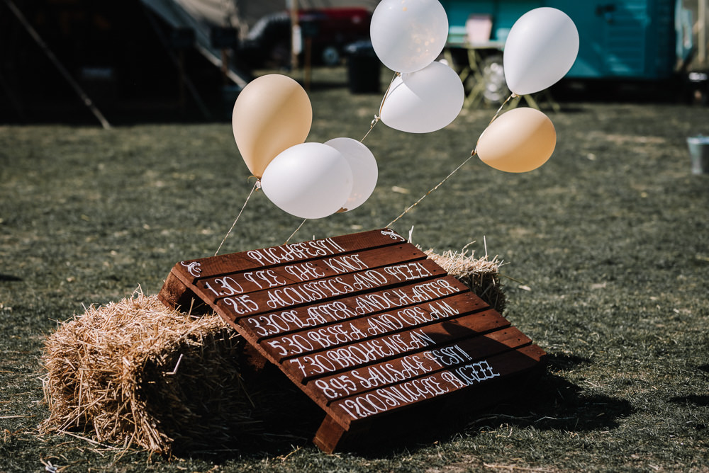 Wooden Pallet Sign Alcott Weddings Oobaloos Photography