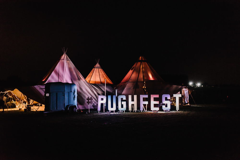 Festival Sign Signage Tipis Lighting Alcott Weddings Oobaloos Photography