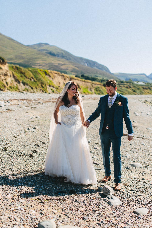 Bride Bridal Separates Sweetheart Neckline Strapless Tulle Floor Length Veil Three Piece Waistcoat Groom Bach Wen Farm Wedding Jessica O'Shaughnessy Photography