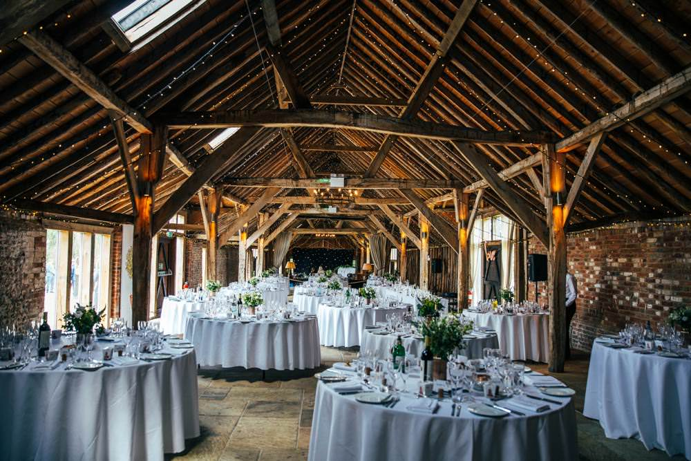 Venue Reception Long Barn Wedding Three Flowers Photography