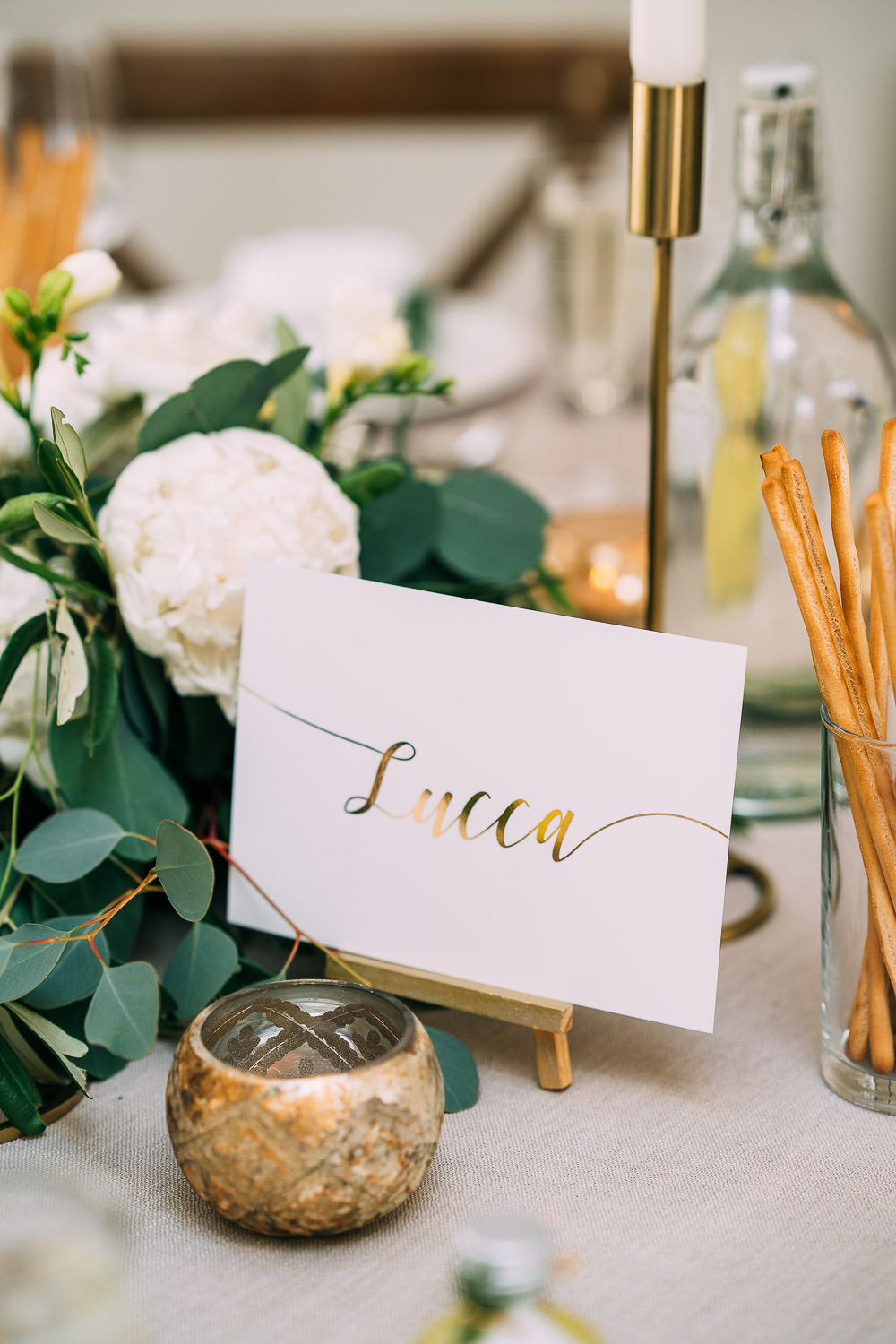 Gold Calligraphy Table Names Old Down Estate Wedding Albert Palmer Photography