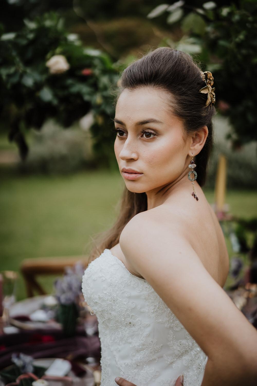 Bride Bridal Make Up Beauty Pylewell Park Wedding New Forest Studio