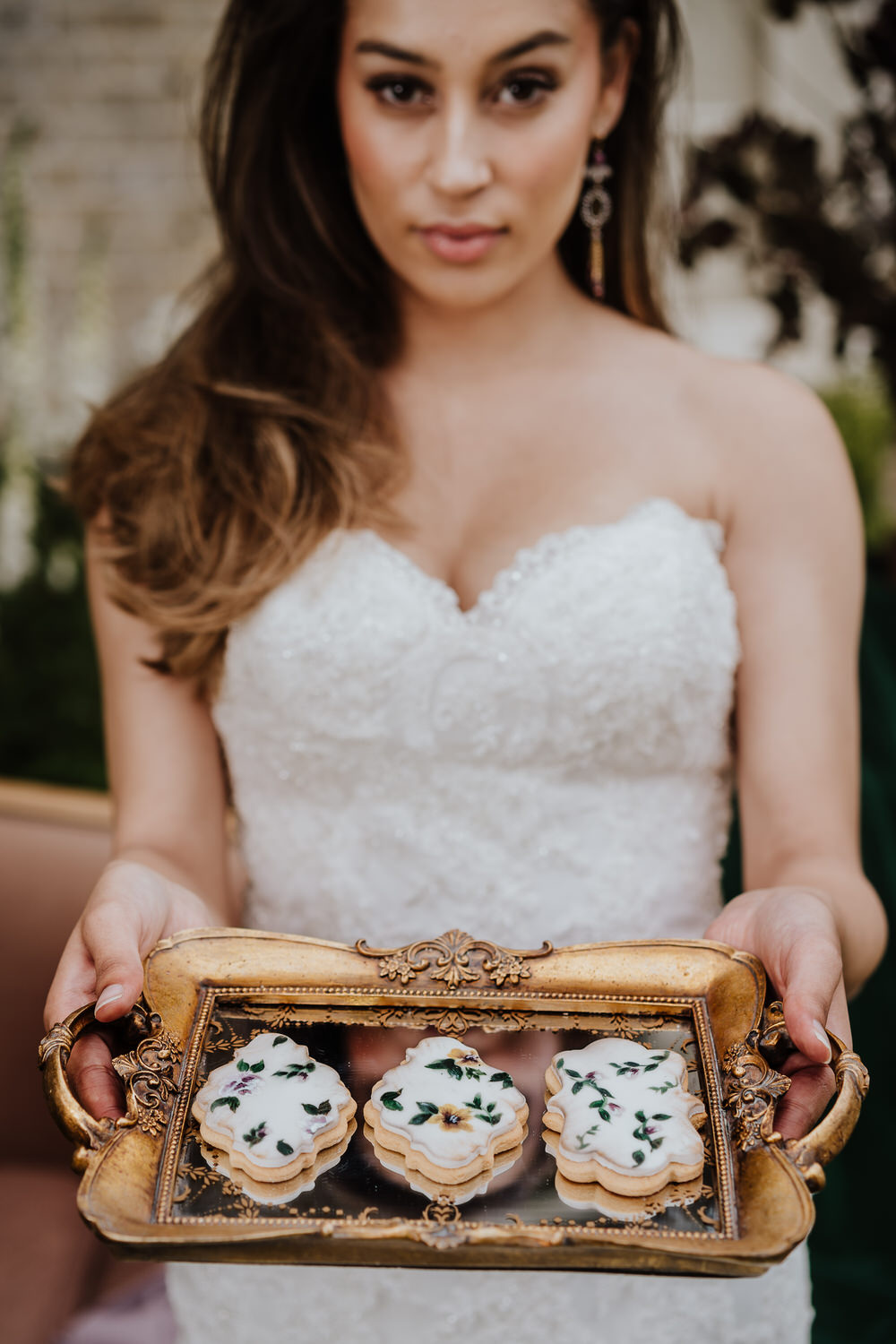 Painted Biscuits Pylewell Park Wedding New Forest Studio