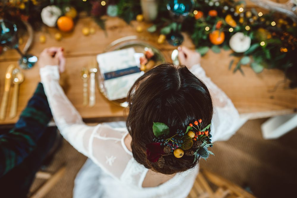Rustic Christmas Wedding Ideas Dhw Photography