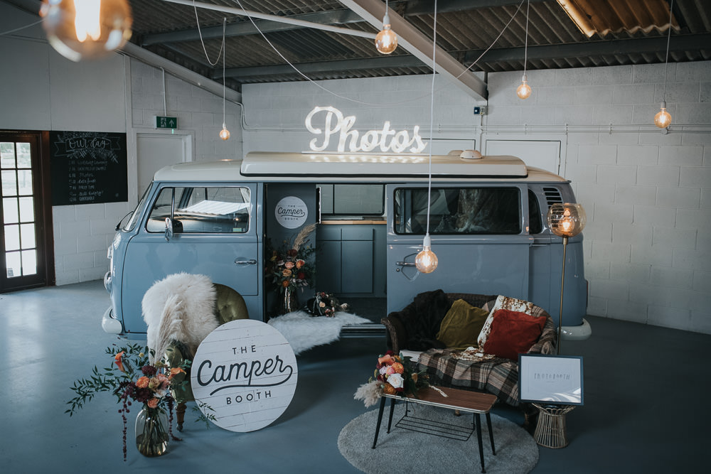 Photobooth Campervan 1970 Retro Mid Century Wedding Ideas Laura Martha Photography