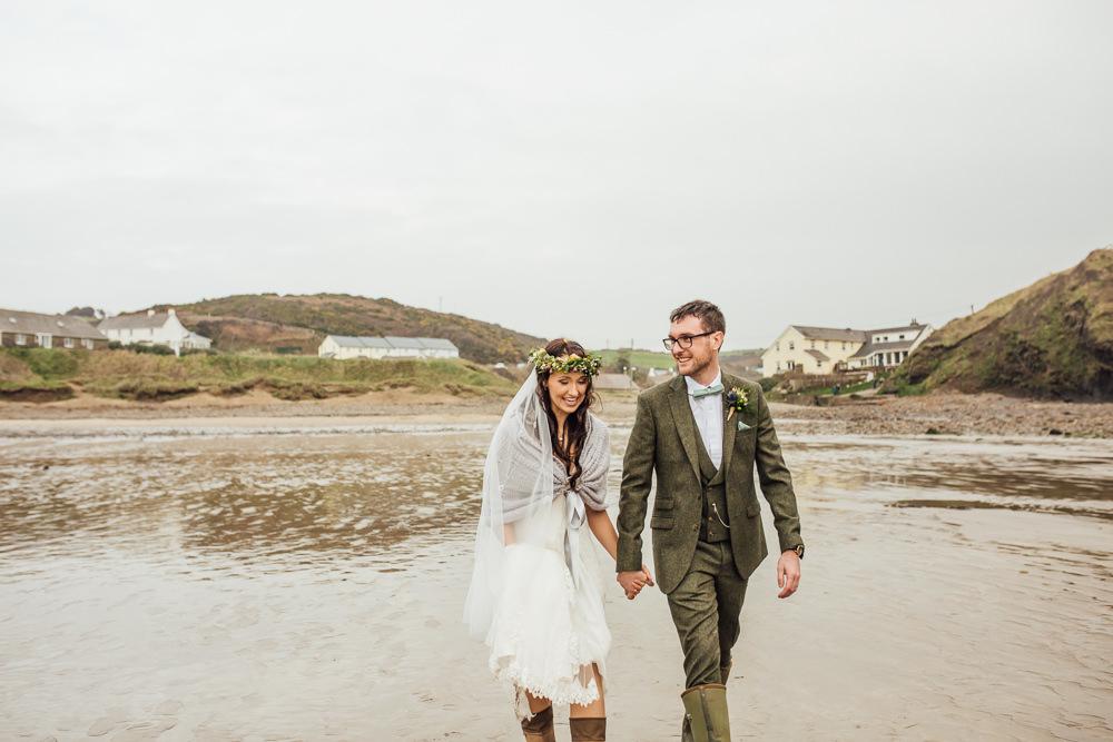 Druidstone Wedding Florence Fox Photography