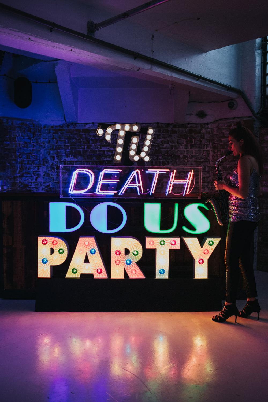 Light Letter Sign Dance Floor Wimborne House Wedding Eva Photography