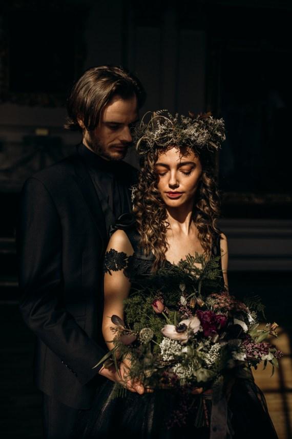 Bride Bridal Make Up Hair Flower Crown Harry Potter Wedding Ideas Thyme Lane Photography